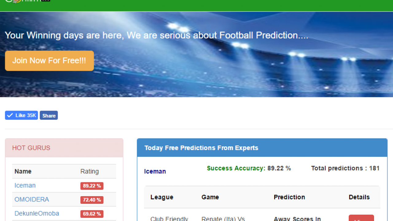 Football Predictions - The Best Experts Are Here - Confirmbets