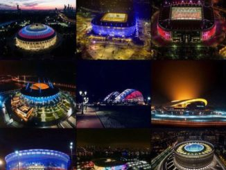 World cup stadium