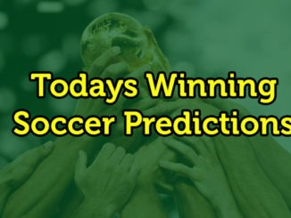 Winning Soccer prediction