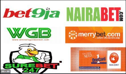 logo of some popular sport betting companies.